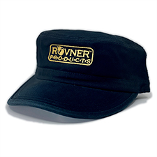 Rovner® Products Corps Style Hat, Black