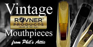Vintage Rovner® Mouthpieces